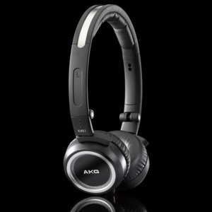 AKG -  K451 - Premium Foldable Mini Headphones