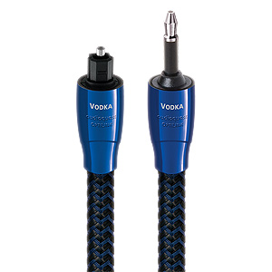 AudioQuest Vodka Mini Toslink Optic Full Size Cable