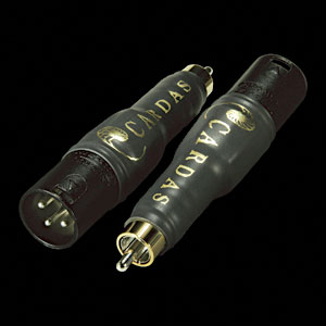 Cardas Male RCA to Male XLR Adapter Pair