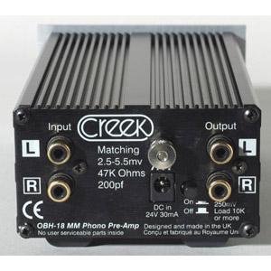 Creek - OBH-18 MM Phono Preamplifier