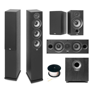 ELAC Debut F5.2 Home Theatre Package
