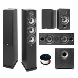 ELAC Debut F6.2 Home Theatre Package