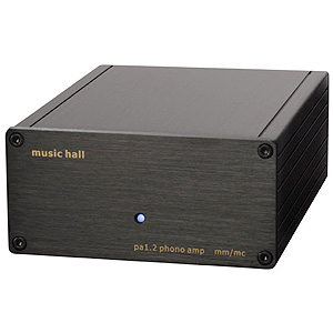 Music Hall PA 1.2  Phono Preamplifier MM/MC