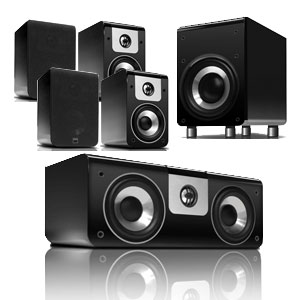 NAD - Viso Twenty and Thirty - Five Channel Speaker Package