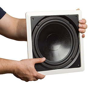Parasound C1002  10 in. In Wall Subwoofer
