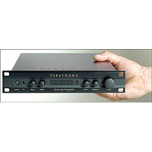 Parasound - Zpre2  Audio/Video Preamplifier                  - Demo