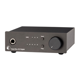 Pro-Ject Head Box S2 Digital Headphone Amplifier and DAC