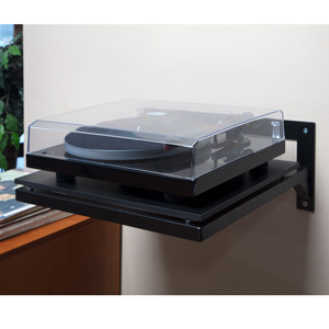 pro ject wallmount it 1 turntable wall mount shelf audio. Black Bedroom Furniture Sets. Home Design Ideas