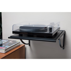 pro ject wallmount it 2 turntable wall mount shelf audio. Black Bedroom Furniture Sets. Home Design Ideas