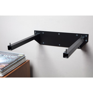 pro ject wallmount it 5 turntable wall mount shelf audio. Black Bedroom Furniture Sets. Home Design Ideas