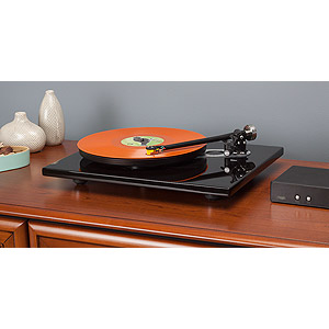 Rega RP6 Colored Plinth with Black TT PSU