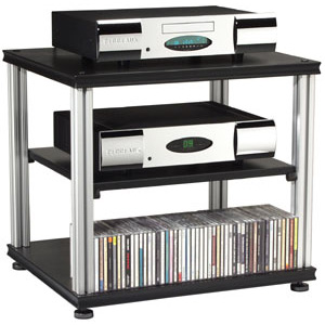 Salamander Synergy S20 Three Shelf Audio Rack-Audio Advisor