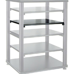 Salamander - Synergy Single Black Internal Shelf