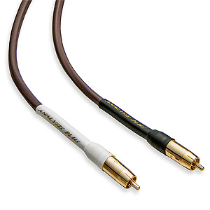 Analysis Plus Chocolate Oval Interconnect Cable