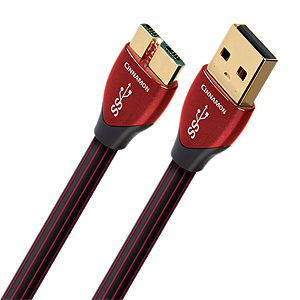 AudioQuest Cinnamon USB 3.0 A to Micro B 3.0 Cable