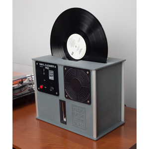 audio desk record cleaning machine