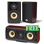 PSB Imagine Mini Bookshelf Speakers with a FREE Center Channel