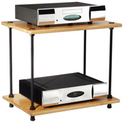Salamander Archetype 2.0 Two Shelf Audio Rack