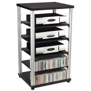 Salamander Synergy S40 Six Shelf Audio Rack