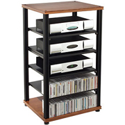 Salamander Synergy S40 Six Shelf Audio Rack - Demo