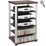 Salamander - Synergy S40 Six Shelf Audio Rack