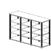 Salamander Synergy Triple 40 Rack Base