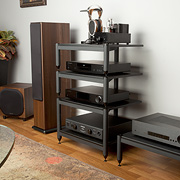 ARI Triple Play Quad Four Shelf Audio Rack