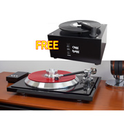 EAT C Sharp Reference Turntable & FREE Okki Nokki  Record Cleaning Machine
