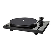 Music Hall MMF 2.3 High Gloss BlackTurntable with Music Hall Spirit Cartridge