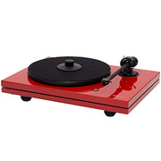 Music Hall MMF 5.1LE  Ferrari Red Turntable w/ Magic 3