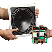 Parasound C1002 InWall Sub & CX1002 Passive Crossover Combo