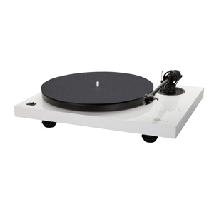 Music Hall MMF 2.3 WH High Gloss White Turntable with Music Hall Spirit Cartridge