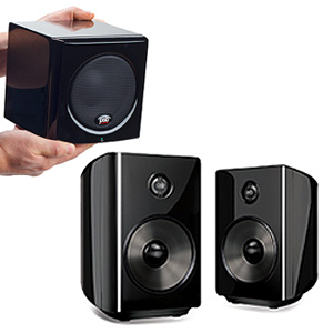 PSB Alpha PS1 Powered Speakers with SubSeries 100