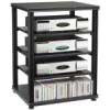 Salamander - Synergy S30 Five Shelf Audio Rack