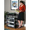 Sanus - AFA Four Shelf Audio Rack