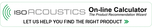 IsoAcoustics Online Product Calculator