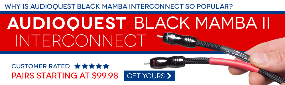 AudioQuest Black Mamba II Premium Audio Interconnect