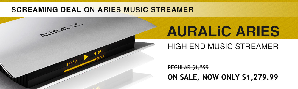 AURALiC Aries High End Music Streamer
