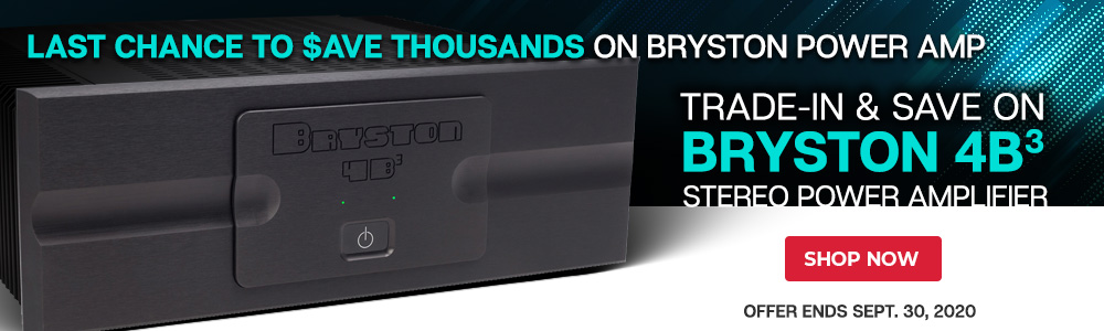 Bryston 4B³ Stereo Power Amplifier