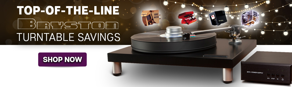 Top-of-the-Line Bryston Turntable Savings