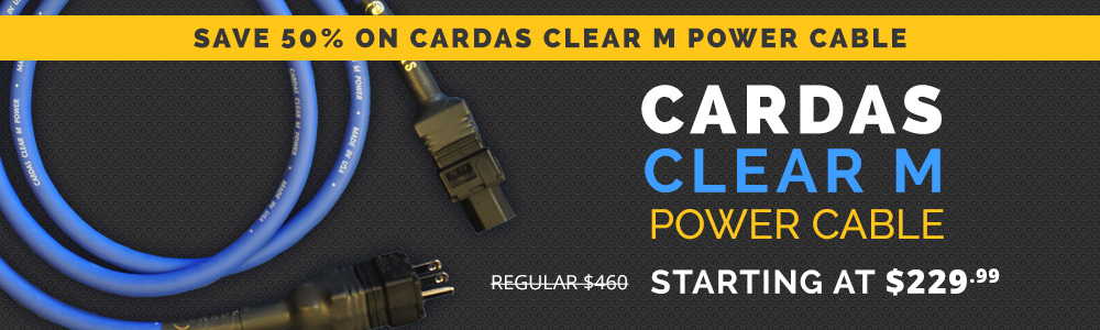 Cardas Clear M Power Cord