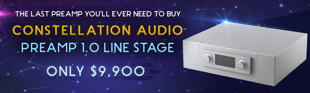 Constellation Audio Preamp 1.0 Line Stage