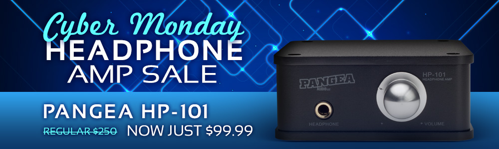 Cyber Monday Heaphone Amp Sale