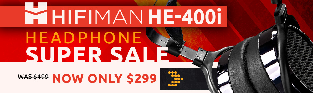 HiFiMan HE-400i Headphone Super Sale!