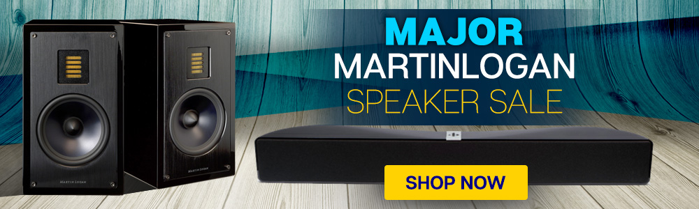 Major MartinLogan Speaker Sale