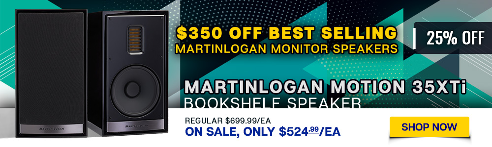 MartinLogan Motion 35XTi Bookshelf Speaker