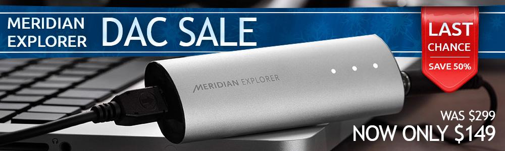 Meridian Explorer USB DAC Headphone Amplifier