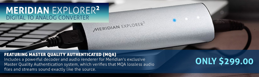 Meridian Explorer2 Digital to Analog Converter