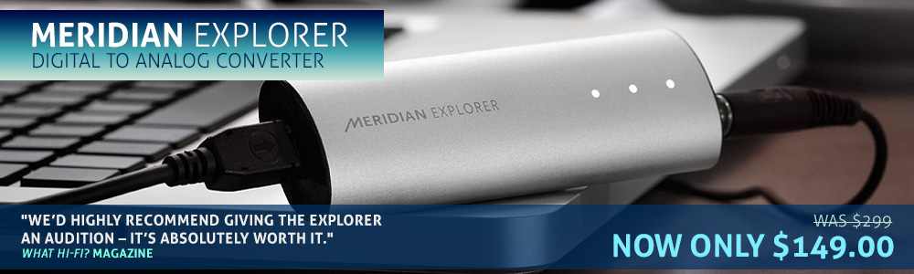 Meridian Explorer Digital to Analog Converter