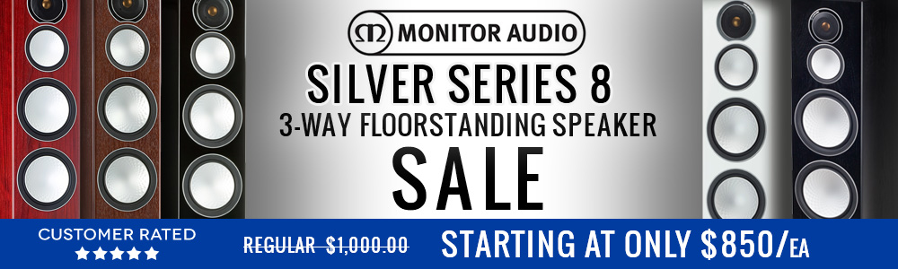 Monitor Audio Silver Series 8 3 way Floorstanding Speaker